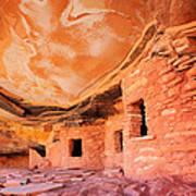 Canyon Ruins Poster
