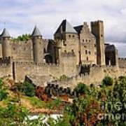 Carcassonne France Poster