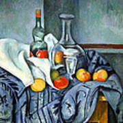 Cezanne's The Peppermint Bottle Poster