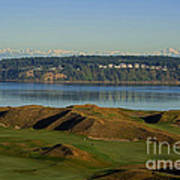 Chambers Bay Golf Course - University Place - Washington Poster