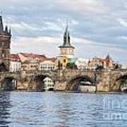 Charles Bridge In  Prague Poster