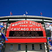 Chicago Cubs - Wrigley Field Poster by Frank Romeo