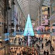 Christmas Shopping In Toronto Poster