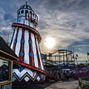 Clacton Pier Poster by Andrew Lalchan