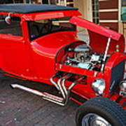 Classic Custom Hotrod Poster