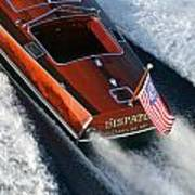 Classic Gar Wood Runabout Poster