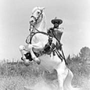 Clayton Moore In The Lone Ranger Poster