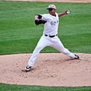 Cleveland Indians V Chicago White Sox Poster