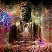 Cosmic Buddha Poster