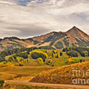 Crested Butte Autumn Poster
