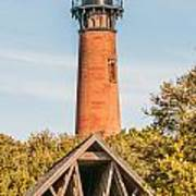 Currituck Beach Lighthouse On The Outer Banks Of North Carolina Poster