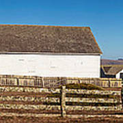 Dairy Buildings At Historic Pierce Poster