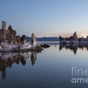 Dawn On Mono Lake Poster