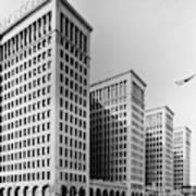 Detroit General Motors Poster