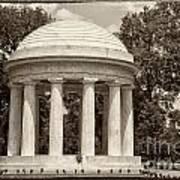 District Of Columbia War Memorial Poster
