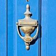 Door Knocker Poster by Tom Gowanlock