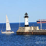 Duluth Mn Harbor Poster