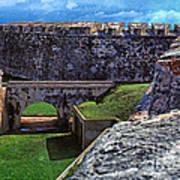 El Morro Fortress Old San Juan Poster