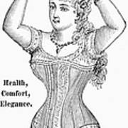 Electric Corset, 1882 Poster
