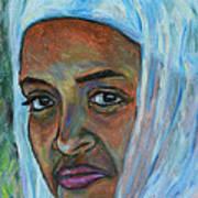 Ethiopian Lady Poster