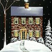 Evergreen Cottage Poster