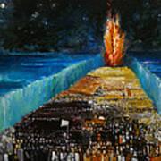 Exodus Poster by Richard Mcbee
