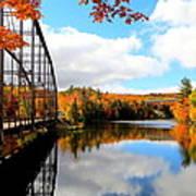 Autumn In Upper Michigan Poster
