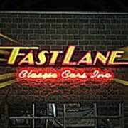 Fast Lane In Lights Poster