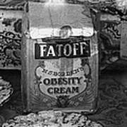 Fatoff Obesity Cream Bottled Electricity Store Window Ghost Town Virginia City Montana 1971 Poster