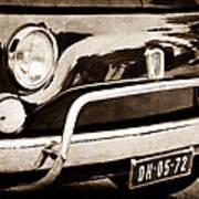 Fiat 500 L Front End Poster