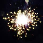 Fireworks Shell Burst Poster by Jay Droggitis