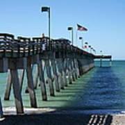 Fishing Pier Poster