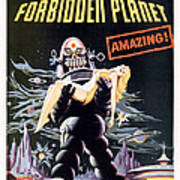 Forbidden Planet  Poster by Silver Screen