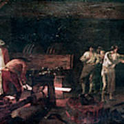 Foundry, 18th Century Poster