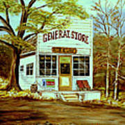 General Store 1902 Poster