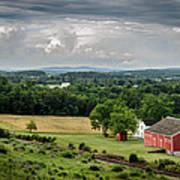 Gettysburg Barn Poster