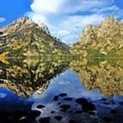 Grand Teton Mirror Poster