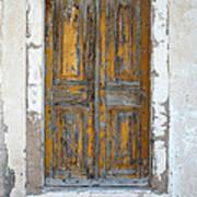 Greek Door Poster