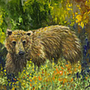 Grizzly Study 2 Poster