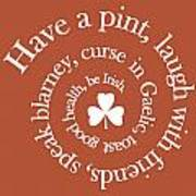 Have A Pint Poster