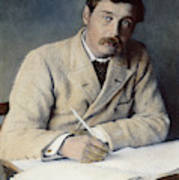 Herbert George Wells (1866-1946) Poster
