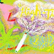 High Times Poster by Joe Dillon