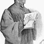Huldreich Zwingli (1484-1531) Poster