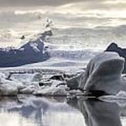 iceland Jokulsarlon Poster