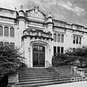 Illinois Wesleyan University Buck Memorial Library Poster