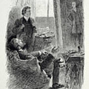 Illustration From The Picture Of Dorian Poster