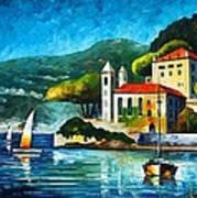 Italy Lake Como Villa Balbianello Poster