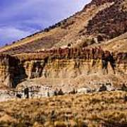 John Day Fossil Beds Nations Monuments Poster by Shiela Kowing