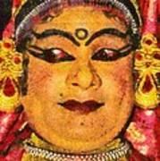 Katakali Actor In India Poster