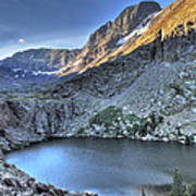 Kit Carson Peak And Willow Lake Poster